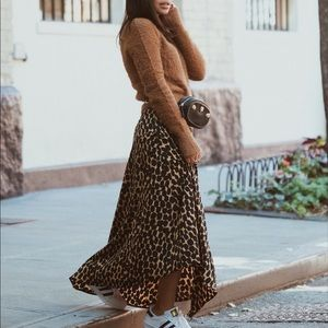Skirts - Target x Who What Wear Leopard Skirt